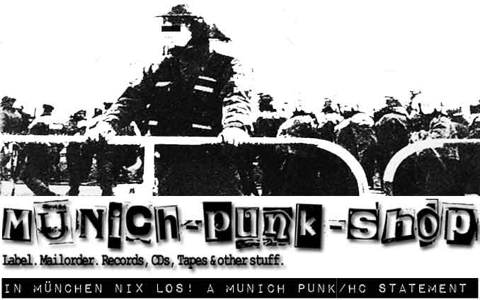 Support your local.. Munich Punk Shop